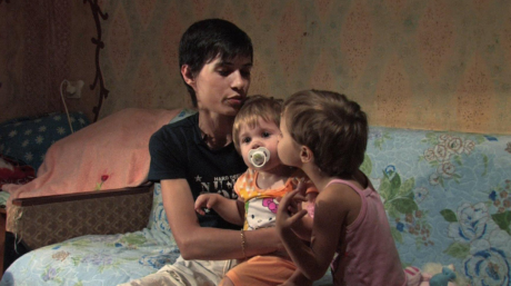 One of the protagonists of Balka, a film which follows the lives of women struggling with drug use and HIV in Ukraine. Source: Open Society Foundations.