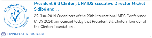 http://www.livingpositivevictoria.org.au/announcements/president-bill-clinton-unaids-executive-director-michel-sidibe-and-activist-sir-bob-geldof-to-addres