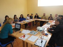 drafting country level hiv advocacy action plan in armenia