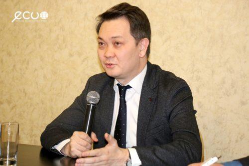 Канат Суханбердиев, представитель программ по здравоохранению и питанию ЮНИСЕФ