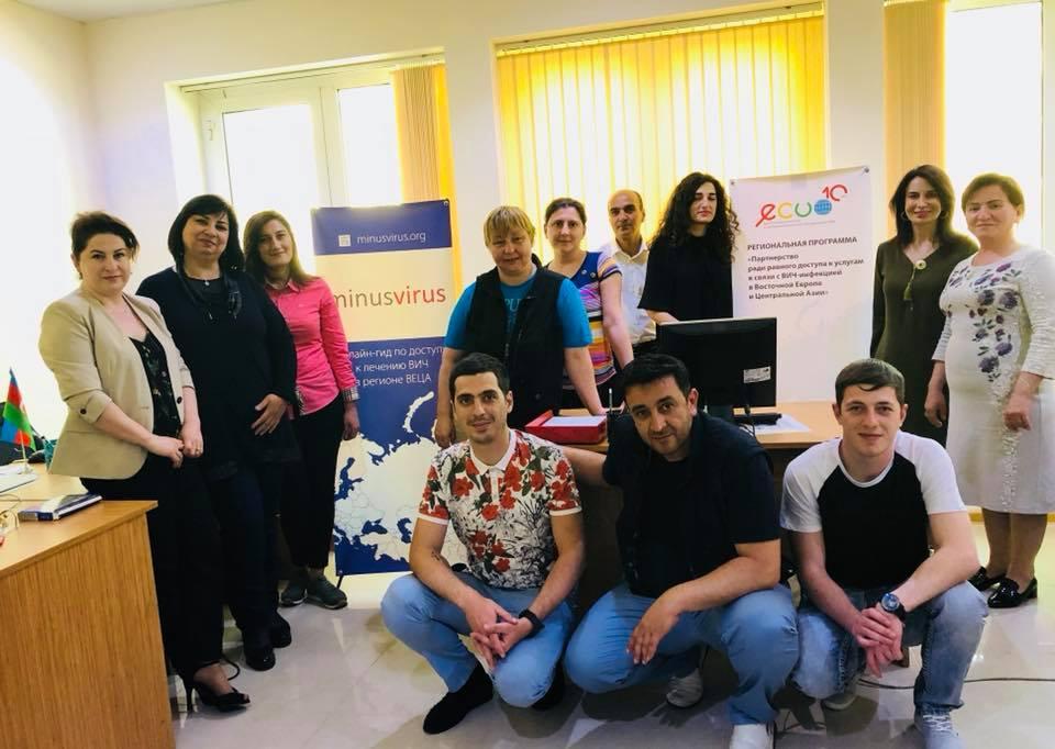 В офисе Общественной организации по борьбе со СПИДом. Фото - Инна Гаврилова, ВЦО ЛЖВ